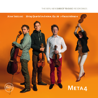 Meta4; Jean Sibelius  String Quartet in d minor, Op. 56